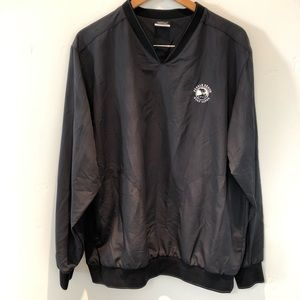 Nike pull over golf jacket with Pebble Beach logo